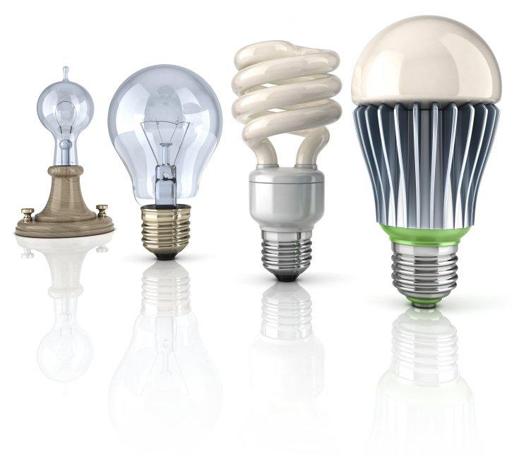 Bestilling af LED pærer foregår online